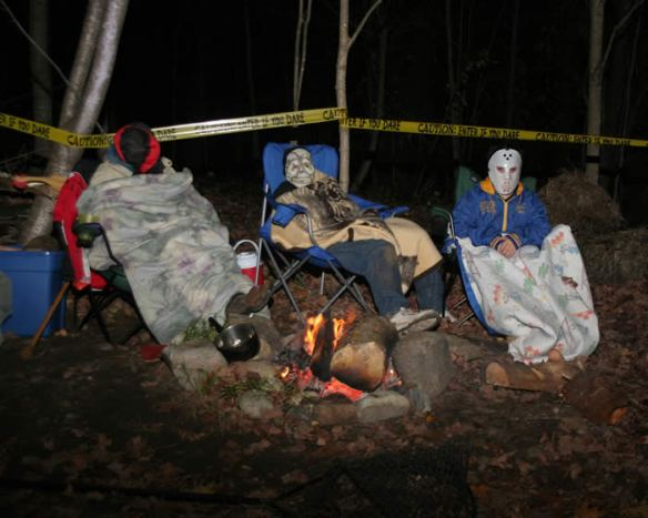2008 Haunted Hayride-Camping Scene