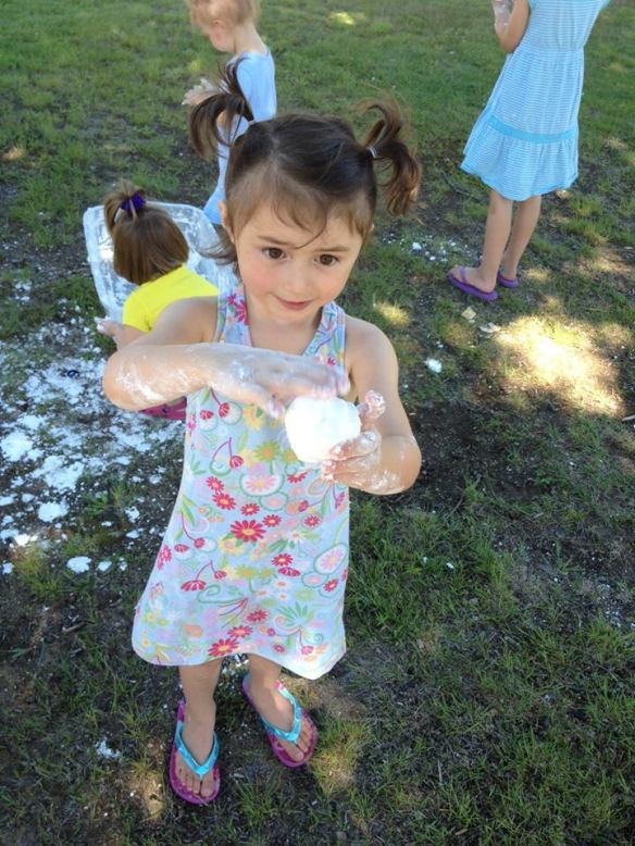 Making Snowballs in July!